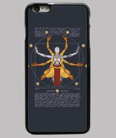 vitruvian omnic phone case