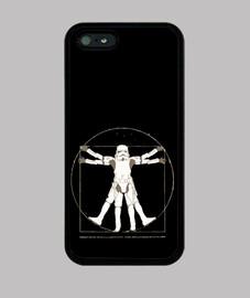 Vitruvian stormtrooper friki