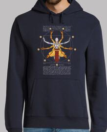 vitruviano hoodie omnic