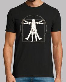 vitruviano stormtrooper geek