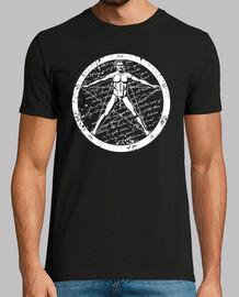 Vitruvio Pentagrama 1.2 (blanco)
