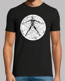 vitruvio pentagramma 1.1 (bianco)