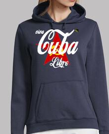 Viva Cuba Libre (En Blanco) - Sudaderas