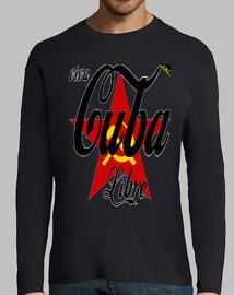 Viva Cuba Libre (En Negro) - Camisetas