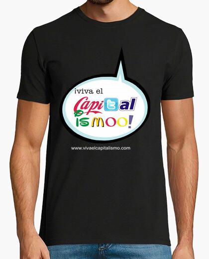 Camiseta ¡VIVA EL CAPITALISMO! COMIC CHICO