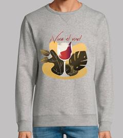 Viva el vino - sudadera