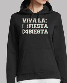 Viva la: ( ) fiesta ( X ) siesta - Piñas
