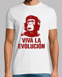 Viva la evolución (blanca)
