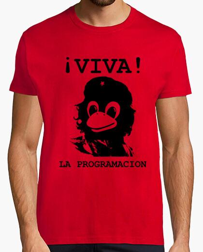 Camiseta Viva la programacion