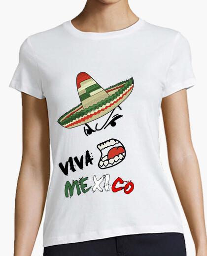 4dd492cdf79be Camiseta VIVA MEXICO - nº 467850 - Camisetas latostadora