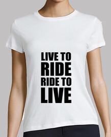 viva para montar / paseo para vivir / m