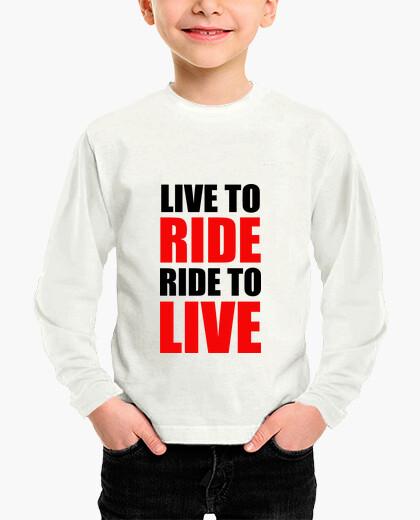 Ropa infantil viva para montar / paseo para vivir / m