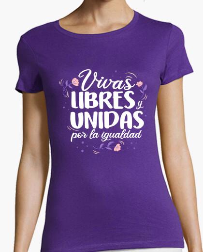 T-shirt viva s libero SY uniti per stessa dad