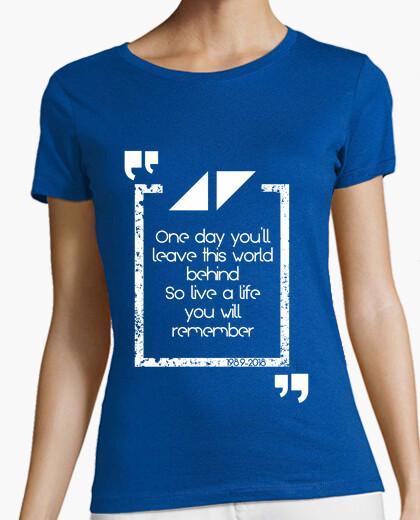 Tee-shirt vivez une vie dont vous vous souviendre