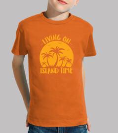 viviendo en la isla de las palmeras y e