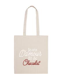 Vivo del amor y el chocolate