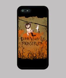 vivono in los - mostri cover iphone 4/5