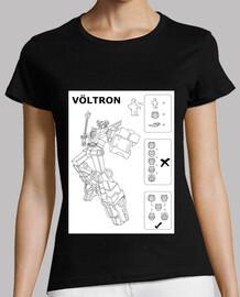 VÖLTRON - Maglietta donna