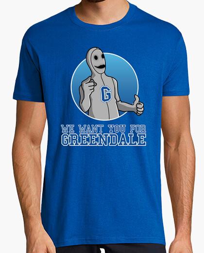 T-shirt vogliamo che you for greendale