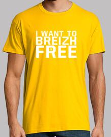 voglio breizh free - t-shirt uomo