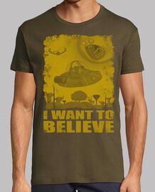 voglio credere - rick & morty (giallo)