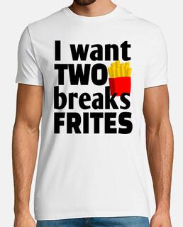 voglio due pause patatine