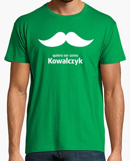 T-shirt voglio essere come kowalczyk