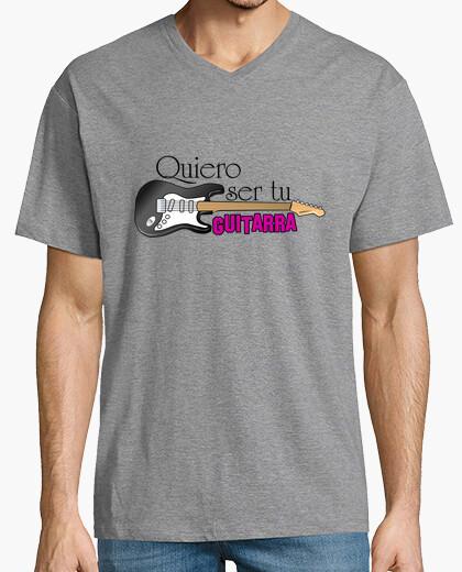 T-shirt voglio essere la tua chitarra
