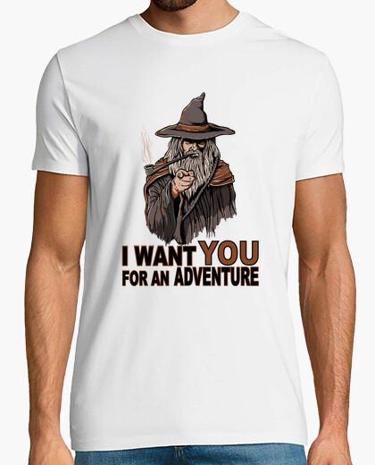 T-shirt voglio you for una adventure