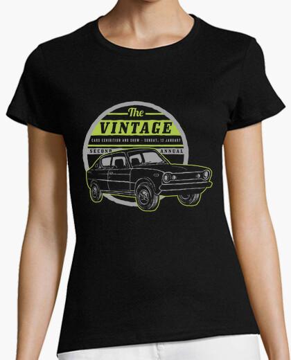 Tee-shirt voiture rétro show