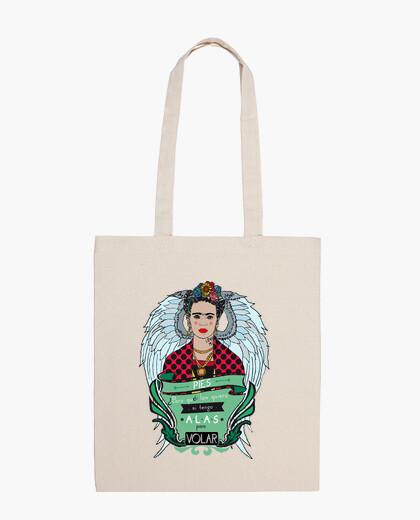 Bolsa Volando con Frida Kahlo