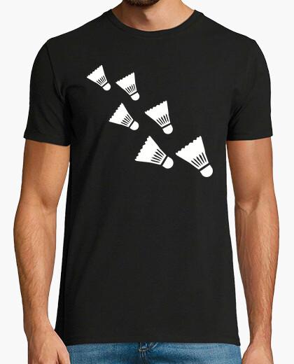 Camiseta volante de bádminton