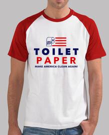 volcado de triunfo - papel higiénico