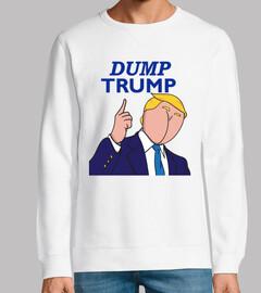 volcado Trump - cara de tope