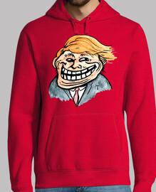 volcado Trump - cara de troll