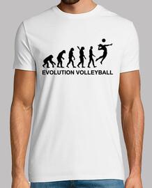 voleibol de la evolución