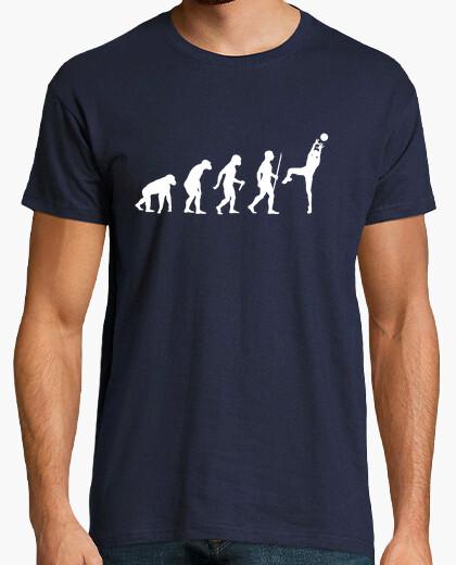 Camiseta voleibol evolución paso