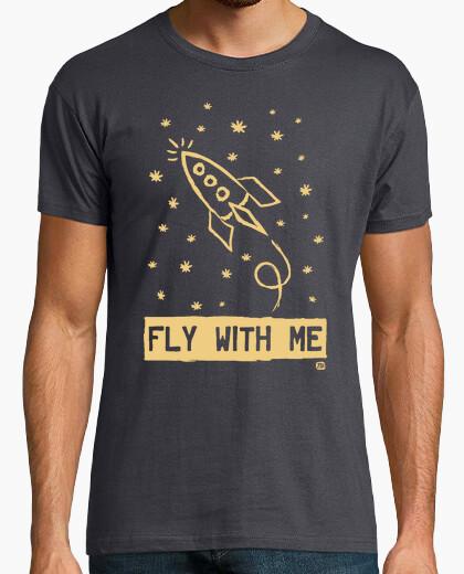 Tee-shirt voler avec moi