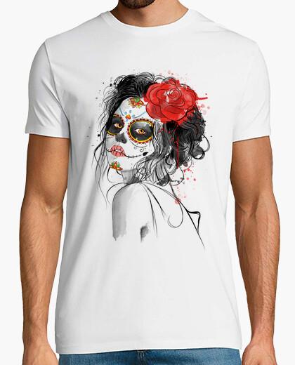 T-shirt Volto- Giorno dei morti