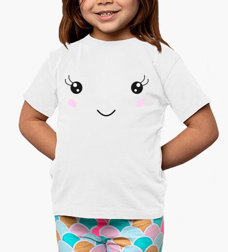 Abbigliamento bambino volto sorridente