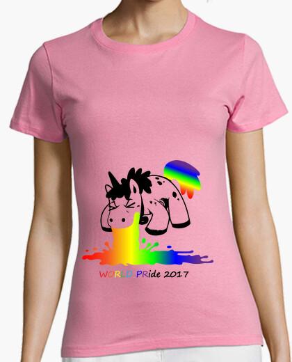 Camiseta Vomitando arco iris WP