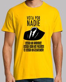 Vota por NADIE (texto negro)