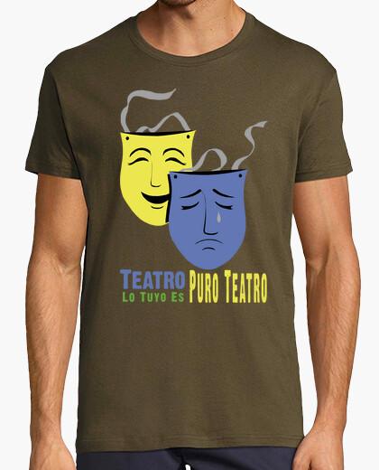 Tee-shirt vôtre est pur théâtre