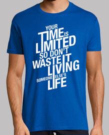 votre temps est limité - bleu royal