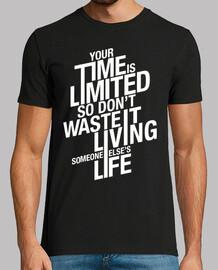 votre temps est limité - noir