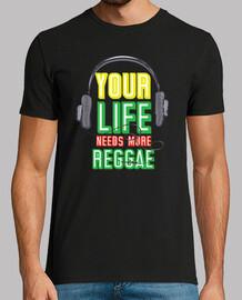 votre vie a besoin de plus de reggae - jamaica rasta