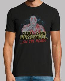 vous êtes beautiful à l'intérieur