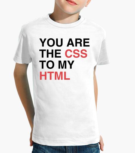 Vêtements enfant vous êtes le css à mon html