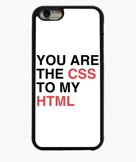 Coque Iphone 6 / 6S vous êtes le css à mon html