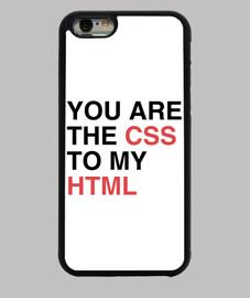 vous êtes le css à mon html